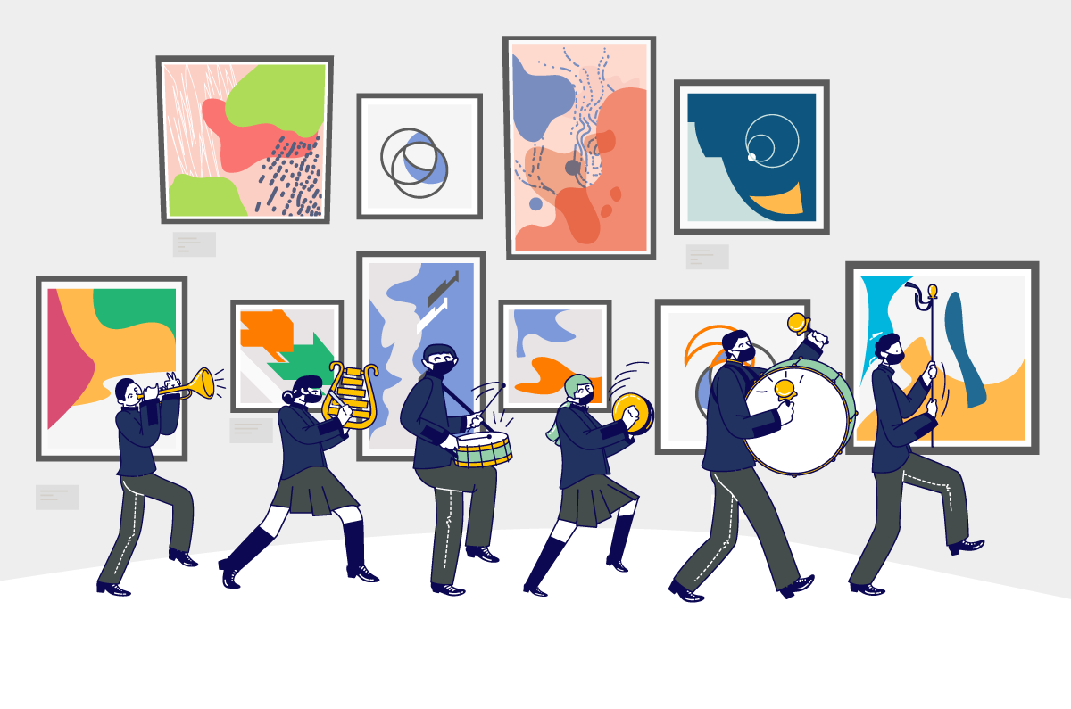 El arte y la música en el CLN