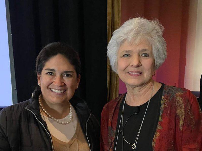 Natalia Pardo Directora de Preescolar y Barbara Sorrels Executive Director of The Institute for Childhood Education