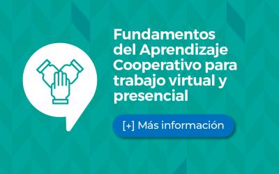 Taller Fundamentos del Aprendizaje Cooperativo para trabajo virtual y presencial