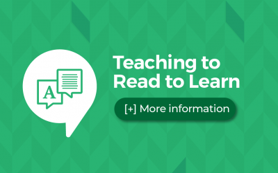 Teaching to Read to Learn