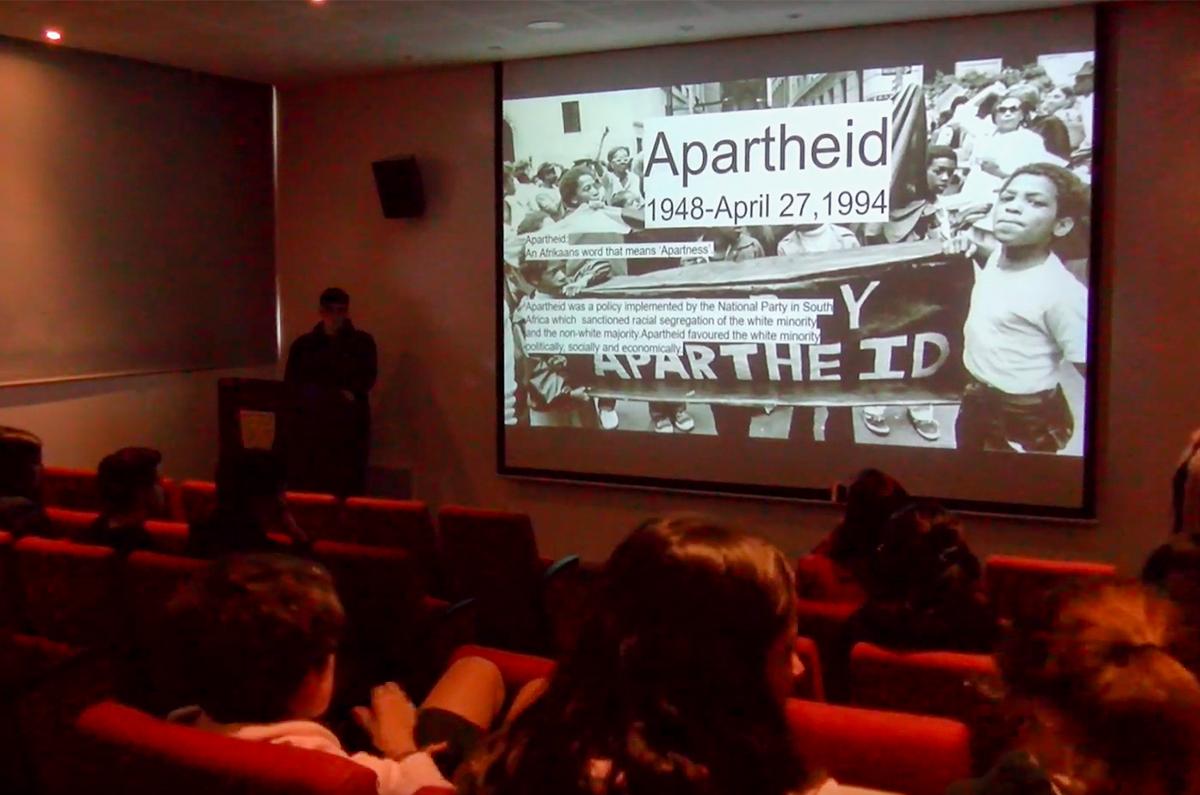 Conociendo y aprendiendo sobre el Apartheid